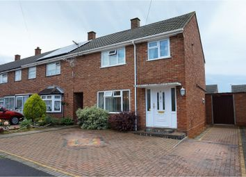 Thumbnail 3 bedroom end terrace house for sale in Dunlin Road, Ipswich