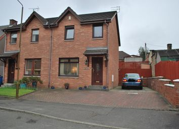Thumbnail 3 bed semi-detached house for sale in Pleasance Gardens, Falkirk