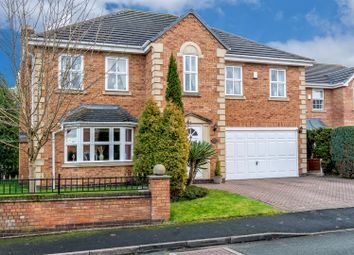 Thumbnail 5 bed detached house for sale in Highfields Park, Cheslyn Hay, Walsall