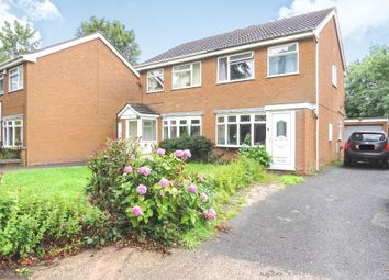 Thumbnail 3 bed semi-detached house for sale in Wickham Gardens, Off Prestwood Road, Wednesfield, Wolverhampton
