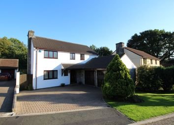 Thumbnail 4 bed detached house for sale in Oaktree Close, Woodlands, Ivybridge