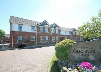 Thumbnail 2 bed flat for sale in Churchtown Gardens, Marshside Road, Southport