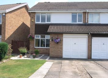 Thumbnail 3 bed terraced house for sale in Purbeck Close, Hayley Green, Halesowen