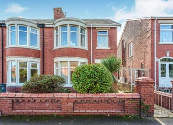 Thumbnail 3 bed semi-detached house for sale in Condor Grove, Blackpool, Lancashire, .