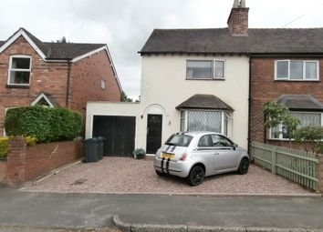 Thumbnail 2 bed semi-detached house for sale in Tower Road, Four Oaks, Sutton Coldfield