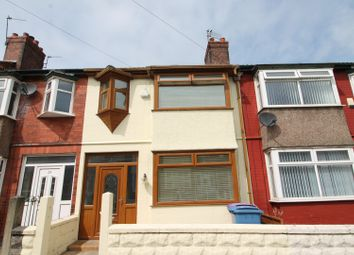 Thumbnail 3 bed terraced house for sale in Rossall Road, Liverpool