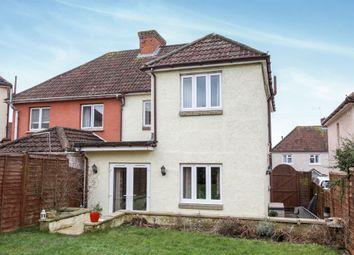 Thumbnail 3 bedroom semi-detached house for sale in Fairfield Road, Salisbury
