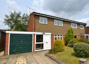Thumbnail 3 bed semi-detached house for sale in Buchanan Drive, Finchampstead, Wokingham, Berkshire