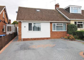 Thumbnail 3 bed semi-detached bungalow for sale in Firsview Drive, Duston, Northampton