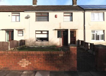 Thumbnail 3 bed terraced house for sale in Shaldon Close, Kirkby, Liverpool