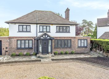 Thumbnail 4 bedroom detached house for sale in Meadow Way, Farnborough Park