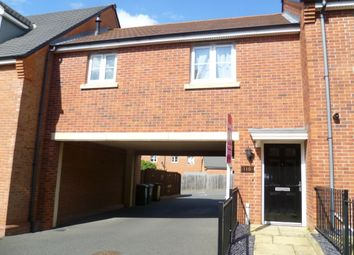 Thumbnail 1 bed flat to rent in Salford Way, Church Gresley, Swadlincote