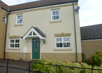 Thumbnail 2 bed semi-detached house to rent in The Glades, Huntingdon