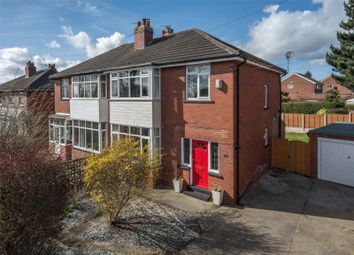 Thumbnail 3 bedroom semi-detached house for sale in Stonegate Road, Leeds, West Yorkshire
