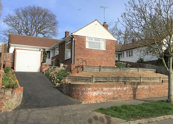 Thumbnail 3 bed detached bungalow for sale in Collinswood Drive, St. Leonards-On-Sea