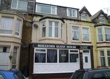Thumbnail Hotel/guest house to let in 7 Bedroom Guest House, Osborne Road, Blackpool, Lancashire