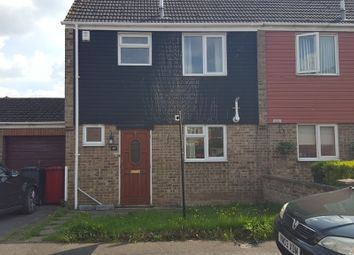 Thumbnail 3 bed semi-detached house for sale in Rochfords Gardens, Slough