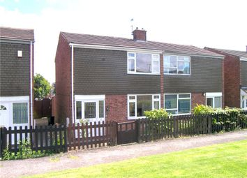 Thumbnail 2 bed semi-detached house to rent in Hedley Close, Somercotes, Alfreton