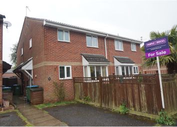Thumbnail 1 bed terraced house for sale in Millbridge Gardens, Sholing, Southampton