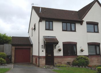 Thumbnail 3 bedroom semi-detached house for sale in Larch Drive, Woolwell, Plymouth