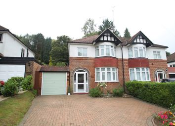 Thumbnail 3 bed semi-detached house for sale in Hillbury Road, Warlingham