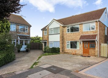 Thumbnail 3 bed semi-detached house for sale in The Lawns, Sompting, Lancing