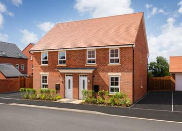 """Thumbnail 3 bedroom semi-detached house for sale in """"Finchley"""" at Rykneld Road, Littleover, Derby"""