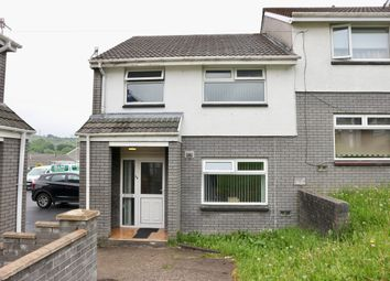 Thumbnail 3 bed end terrace house for sale in St Lukes Close, Pant, Merthyr Tydfil