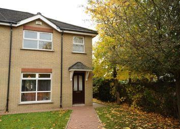 Thumbnail 3 bed semi-detached house for sale in Hanwood Court, Dundonald, Belfast