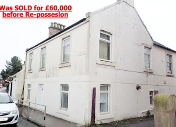 Thumbnail 1 bed flat for sale in 61, Byres Road, Kilwinning KA136Ju
