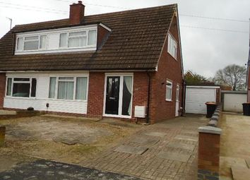 Thumbnail 2 bed semi-detached house to rent in Tithe Barn Road, Wootton, Bedford