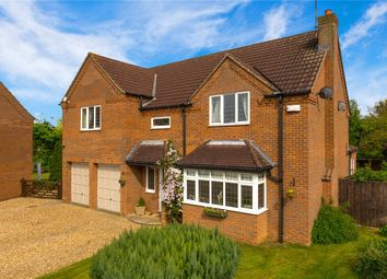 Thumbnail 4 bed detached house for sale in Redthorn Way, Claypole, Newark
