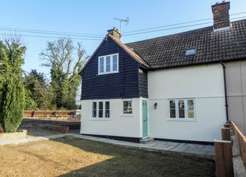 Thumbnail 3 bed semi-detached house to rent in The Glebe, Elmdon, Saffron Walden