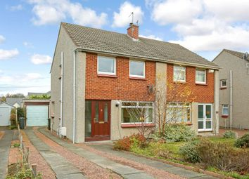 Thumbnail 3 bed semi-detached house for sale in 93 Weavers Knowe Crescent, Currie