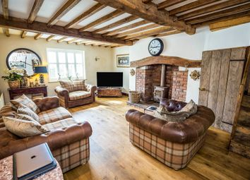 Thumbnail 5 bed farmhouse for sale in Wrexham Road, Rhostyllen, Wrexham