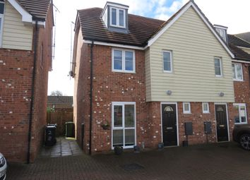 Thumbnail 3 bedroom town house for sale in Westwood Close, Lenham, Maidstone