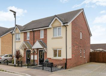 Thumbnail 2 bedroom semi-detached house for sale in Anfield Road, Long Sutton, Spalding