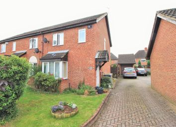 Thumbnail 3 bed end terrace house for sale in Senwick Drive, Wellingborough
