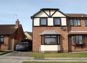 Thumbnail 3 bed semi-detached house to rent in Worcester Road, Grantham
