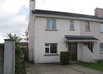 Thumbnail 3 bedroom end terrace house for sale in 19 Graigowen, Tullow, Carlow