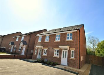 Thumbnail 2 bed semi-detached house to rent in Garfield Park, Great Glen, Leicester