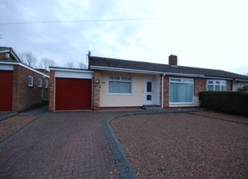 Thumbnail 2 bed semi-detached bungalow for sale in Mitford Gardens, Choppington