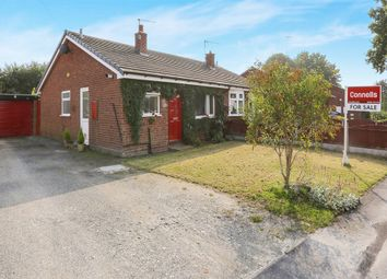 Thumbnail 2 bedroom semi-detached bungalow for sale in East Road, Brinsford, Featherstone, Wolverhampton