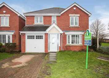 Thumbnail 4 bed detached house for sale in The Leys, Bedworth, Warwickshire