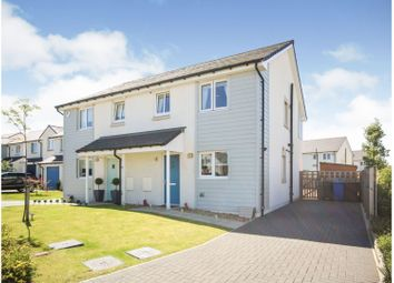 Thumbnail 3 bed semi-detached house for sale in Rowan Place, Livingston
