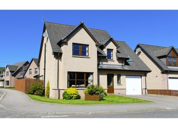 Thumbnail 4 bedroom detached house for sale in The Rowans, Insch
