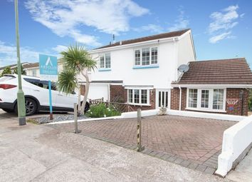 Thumbnail 4 bed semi-detached house for sale in Singer Close, Paignton