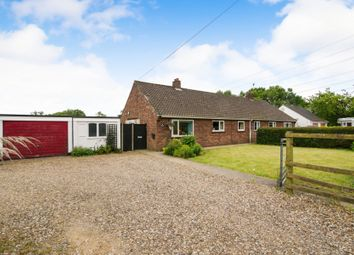 Thumbnail 3 bed semi-detached bungalow for sale in Shipdham Road, Toftwood, Dereham
