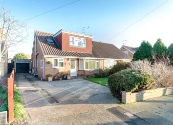 Thumbnail 4 bed semi-detached house for sale in Silverdale Drive, Sompting, West Sussex