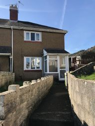 Thumbnail 2 bed semi-detached house to rent in Robert Owen Gardens, Port Tennant Swansea